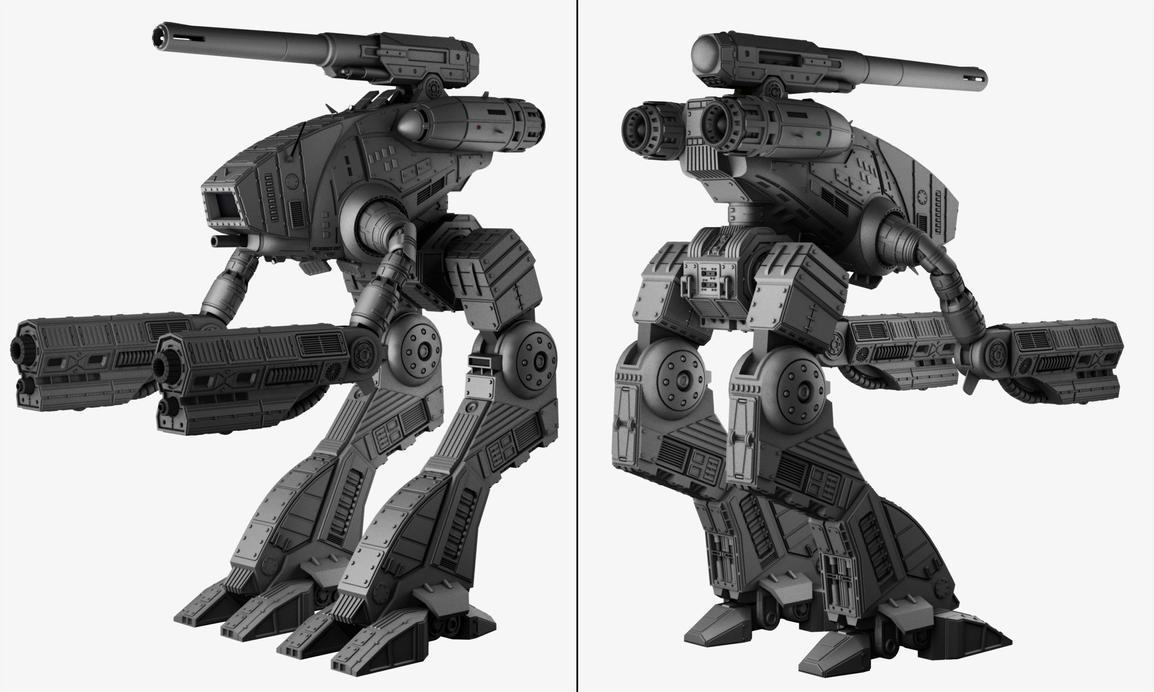 Marauder by punakettu on deviantart - Wallpapers robotech 3d ...