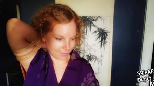 Rifle Tie in a Kimono