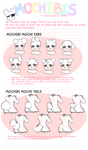 Mochibis Closed Species : Ears and Tail Variations