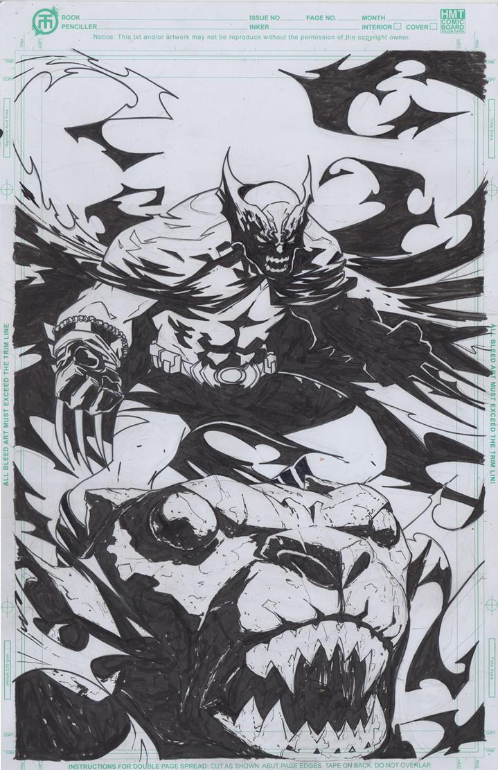 dark claw by ikanasin