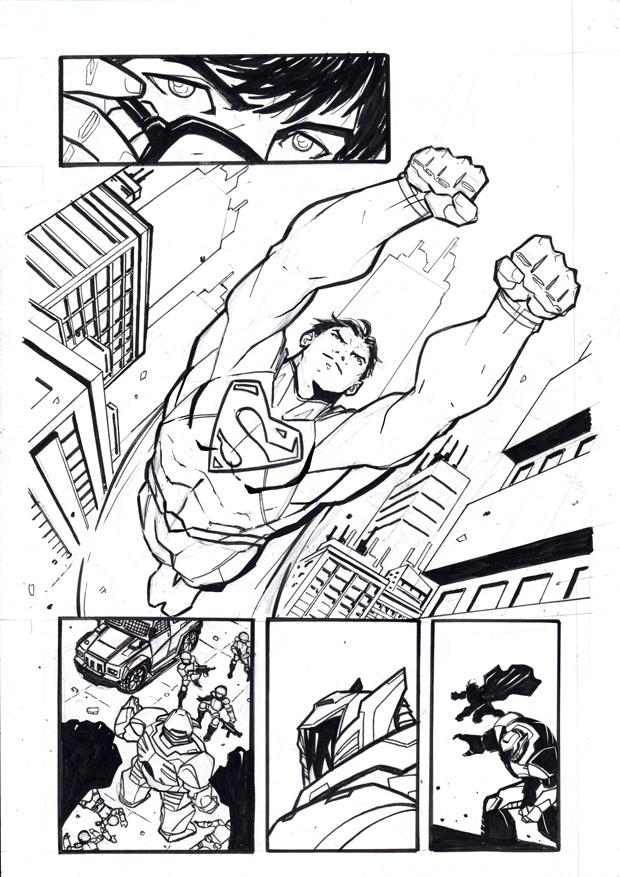 Superman test... by ikanasin