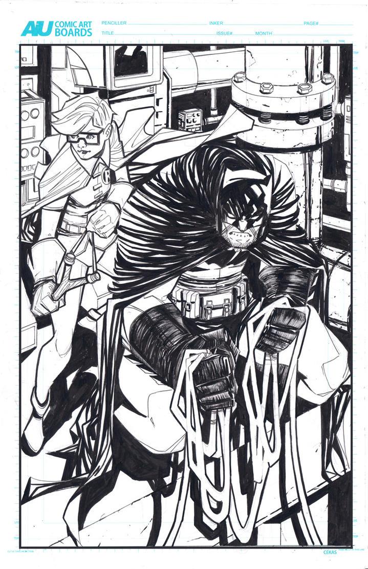 Batman Inklow by ikanasin