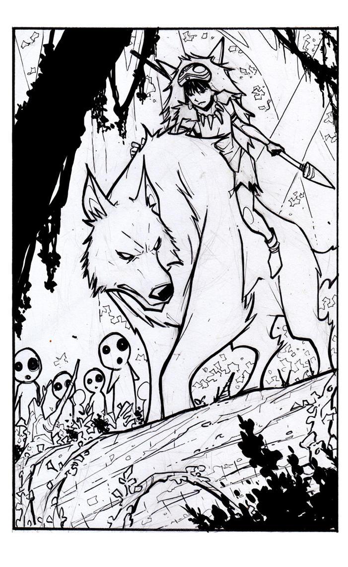 Princess Mononoke by ikanasin