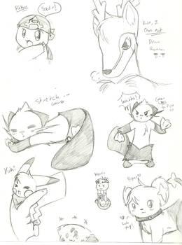 PKMN B and W Doodles 6