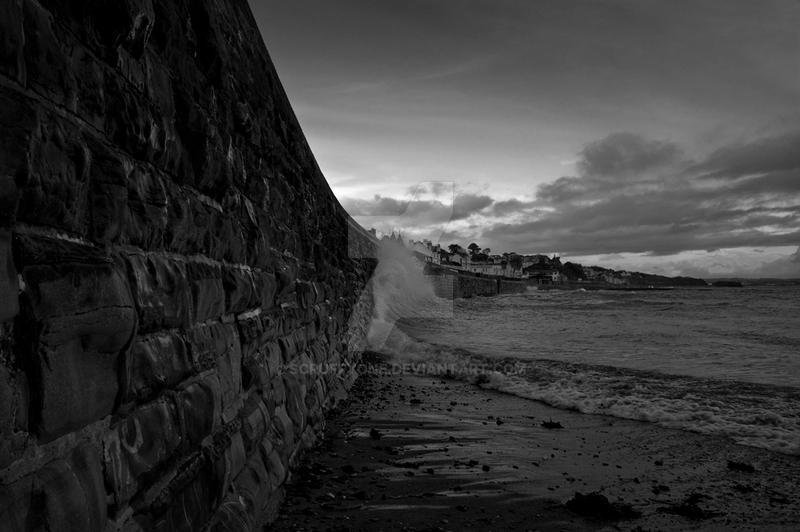Sea Wall by scruffyone