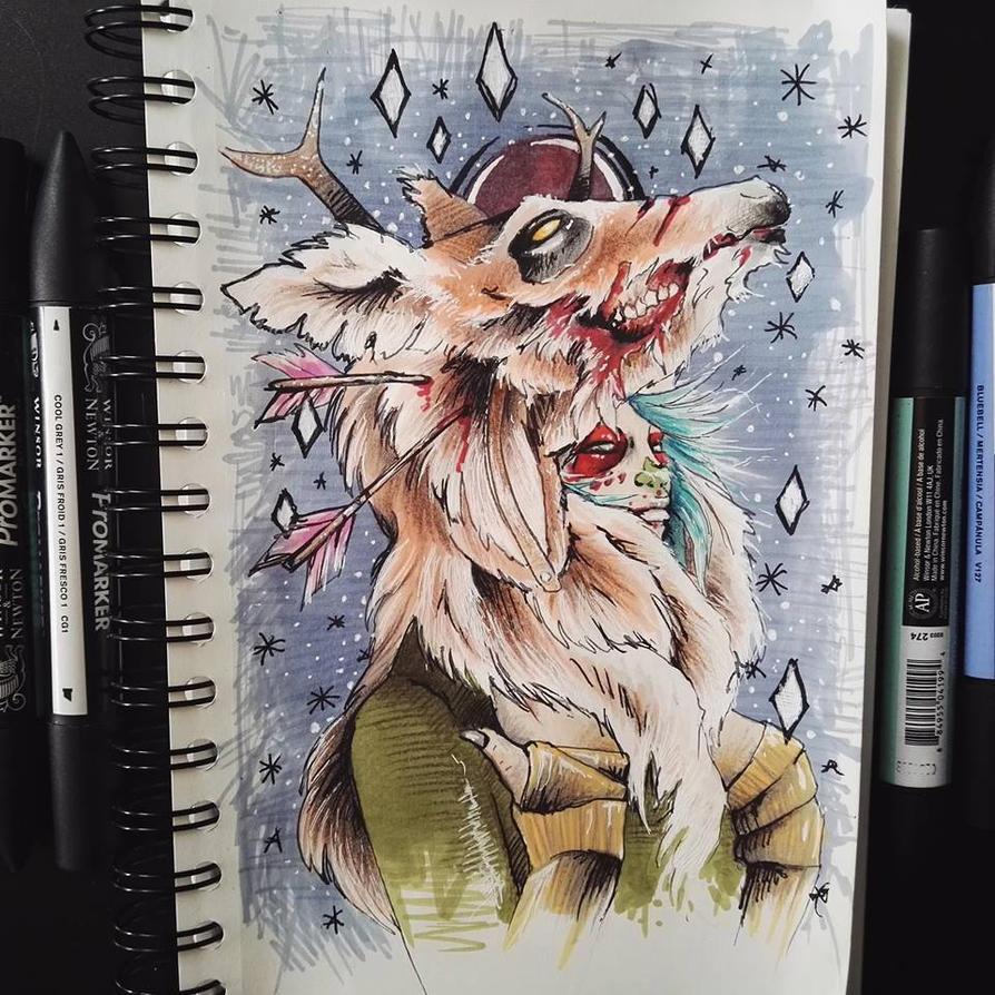 Oh deer! part 2 by Koteck