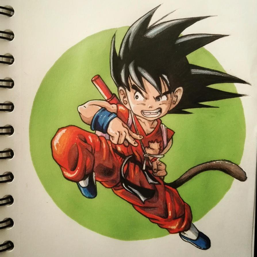 Young Goku by Koteck