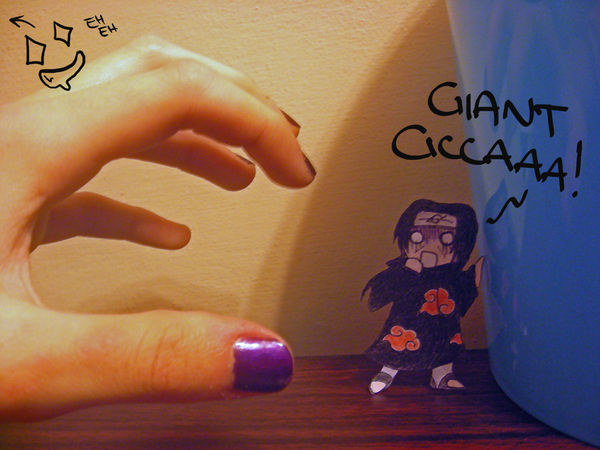 Giant Cicca Attack by jessicacicca