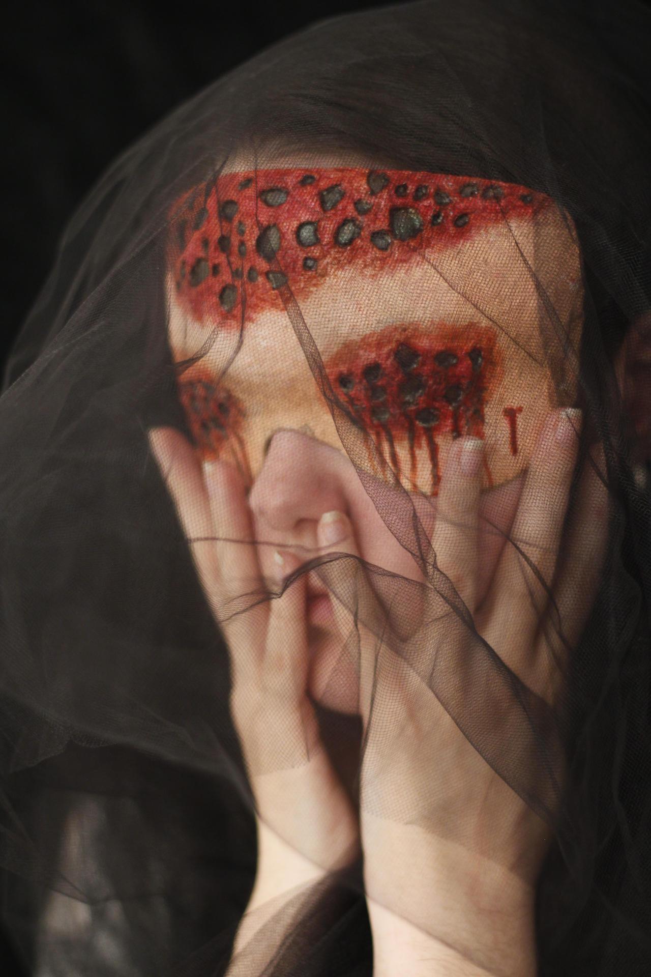Trypophobia Mask 1 By Littlemisskayako1 On Deviantart
