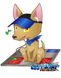 Chihuahua-Pump It by Jackce-Art