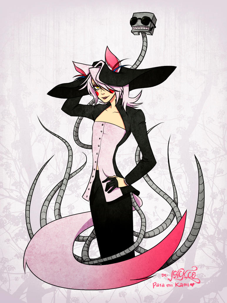 Lady Mangle by Jackce-Art