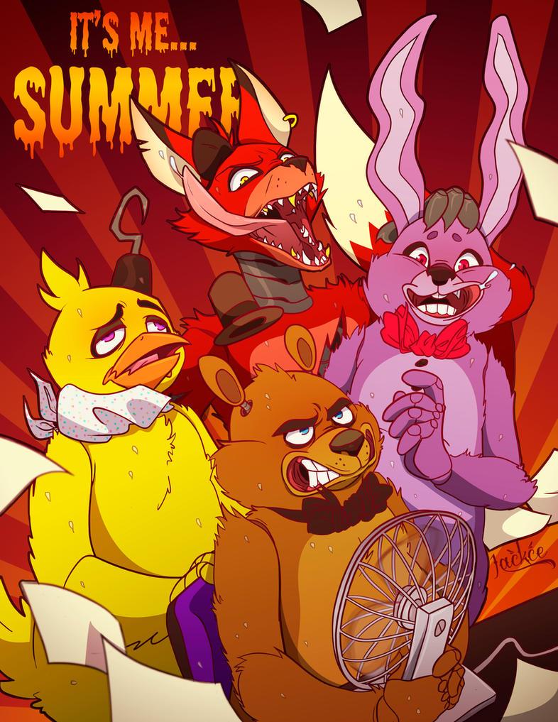 Fnaf summer 1 by jackce art on deviantart