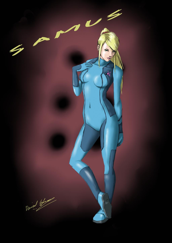Zero Suit Samus by yamidanne