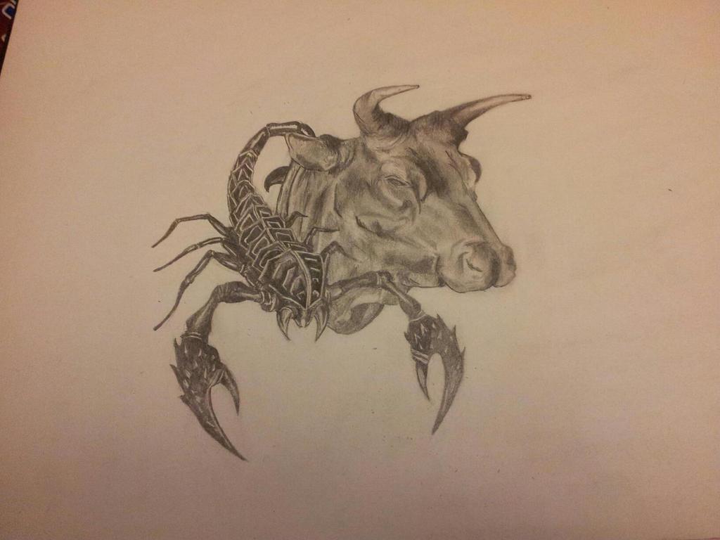 Taurus and Scorpio Tattoo