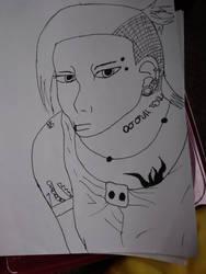 manga drawing tokyo ghoul by drawingwithmeris