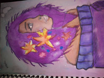 flower girl by drawingwithmeris