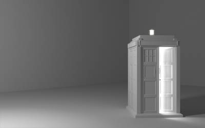 TARDIS model by TangoOscarMik3