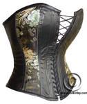 Leather corset by tupali