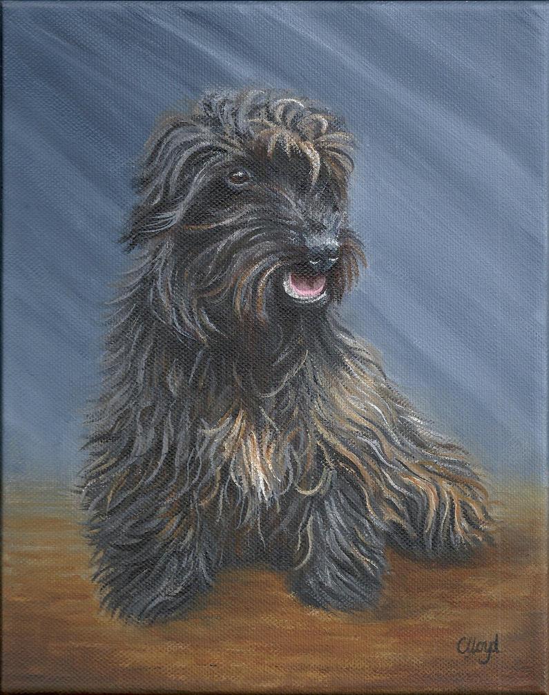 Joy's Dog by CharlotteLloyd