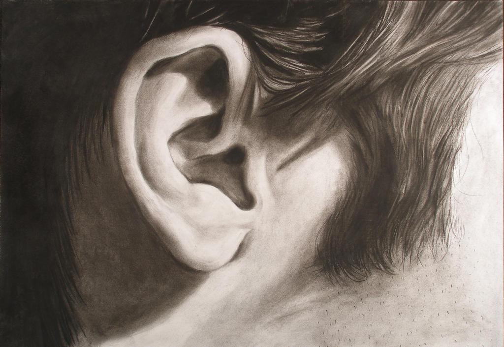 Ear drawing by taylorswiftt13 on DeviantArt