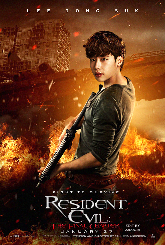 Lee Jong Suk - Resedent Evil by chiisanae on DeviantArt