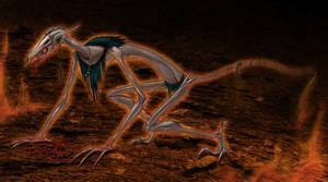 Molech:Devourer of Abomination by Ciarra