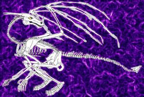 Skeletal Dragon 2005 by Ciarra