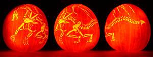 Skeleton Dragon Carving