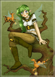 Vaneela and the Fireflykeepers by Ciarra