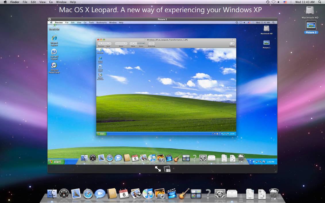 windows xp emulator mac os x