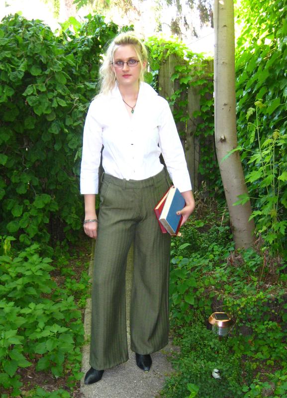 Green pants by ThreeRingCinema