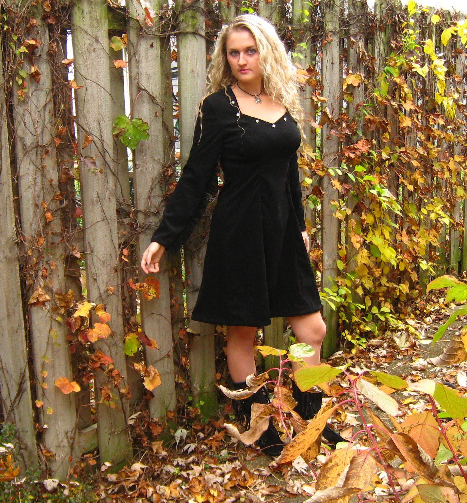 Black Dress view 2 by ThreeRingCinema