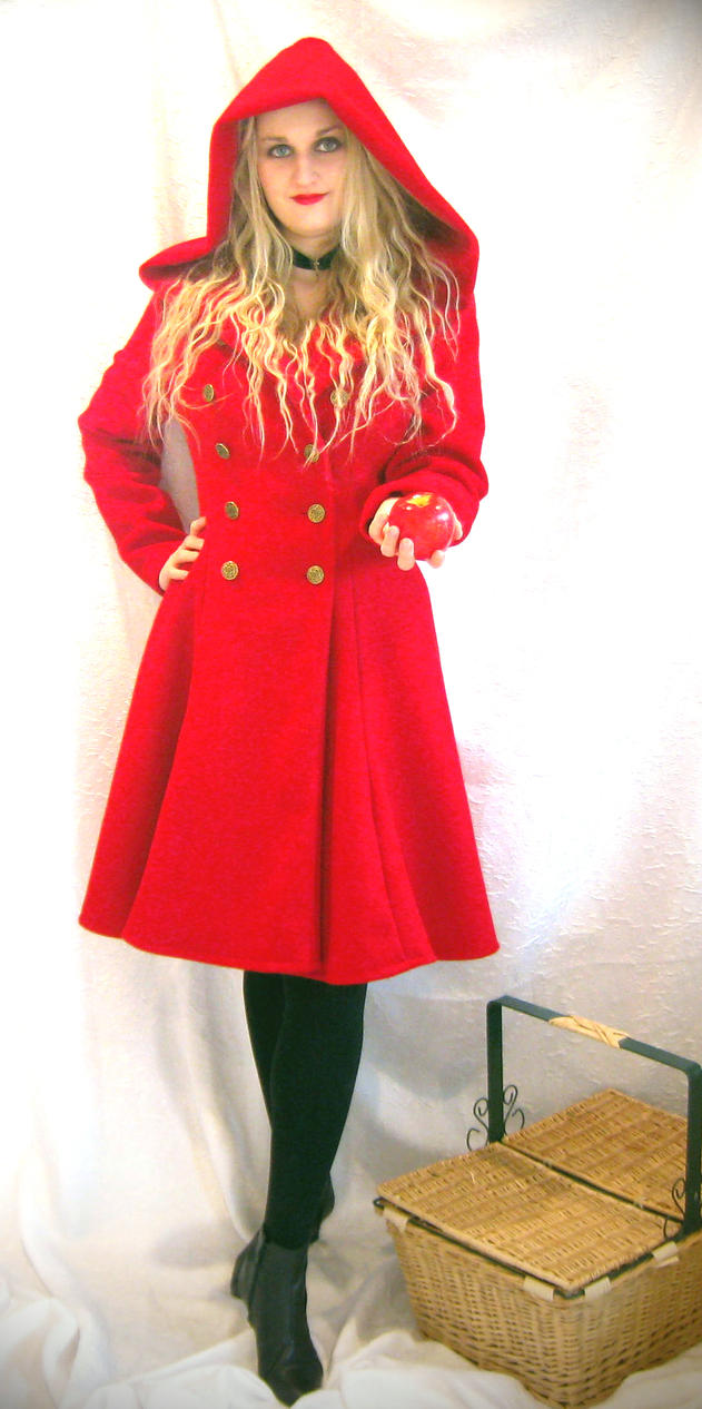 Red Riding Hood coat by ThreeRingCinema