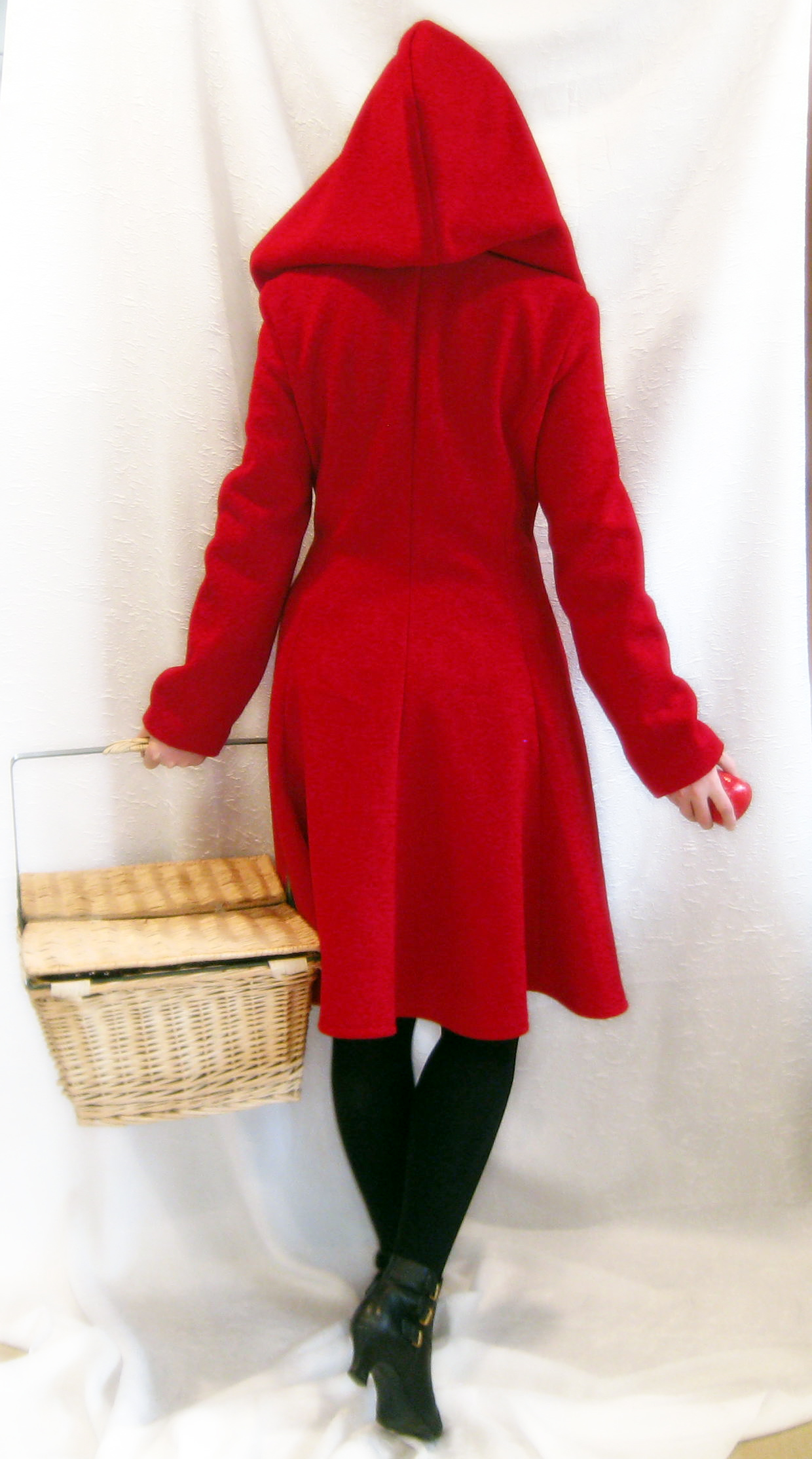 Red Riding Hood Coat, Back by ThreeRingCinema on DeviantArt