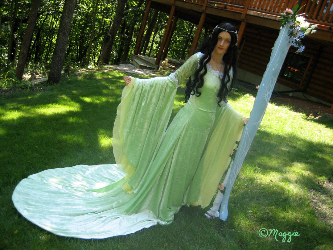 Arwen's Coronation Gown by ThreeRingCinema