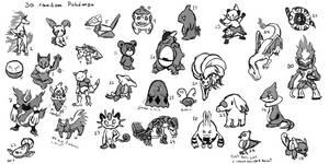 30 random Pokemon
