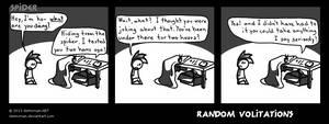 Random Volitations 49 - Spider