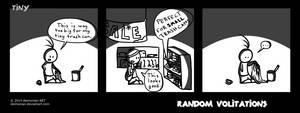 Random Volitations 91 - Tiny by Deimonian