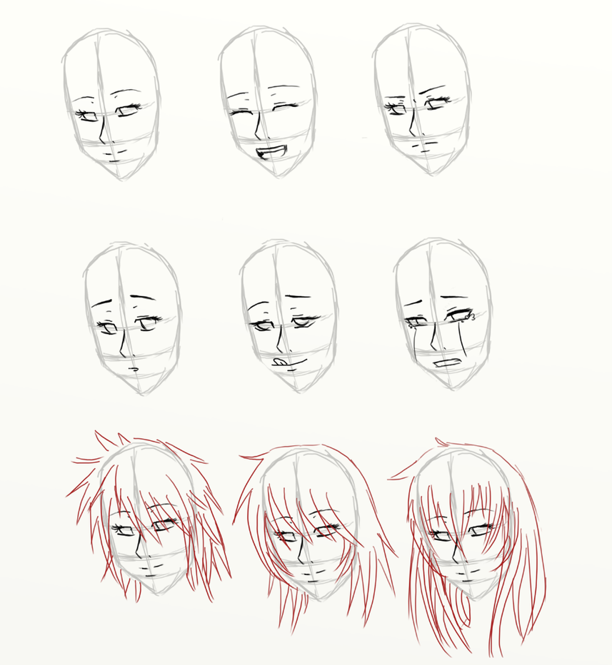 Pictures Of Female Face Template Kidskunstfo