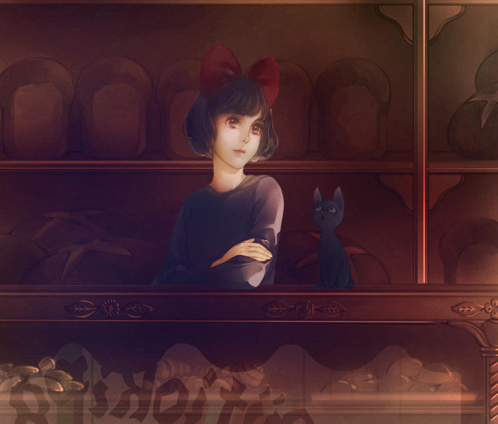 Kiki's Delivery Service by Eunjii