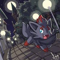 Zorua by Mad-Stalker