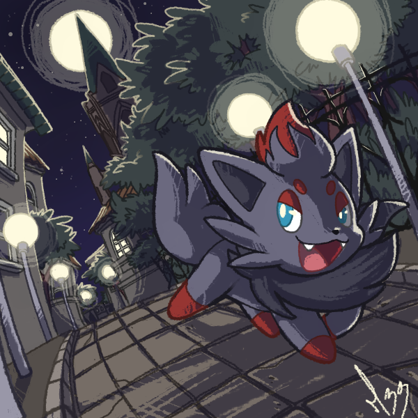 Zorua by mangriff39