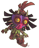 Skull Kid by Mad-Stalker