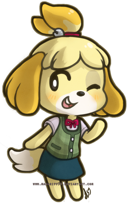 Animal crossing isabelle naked cum was and