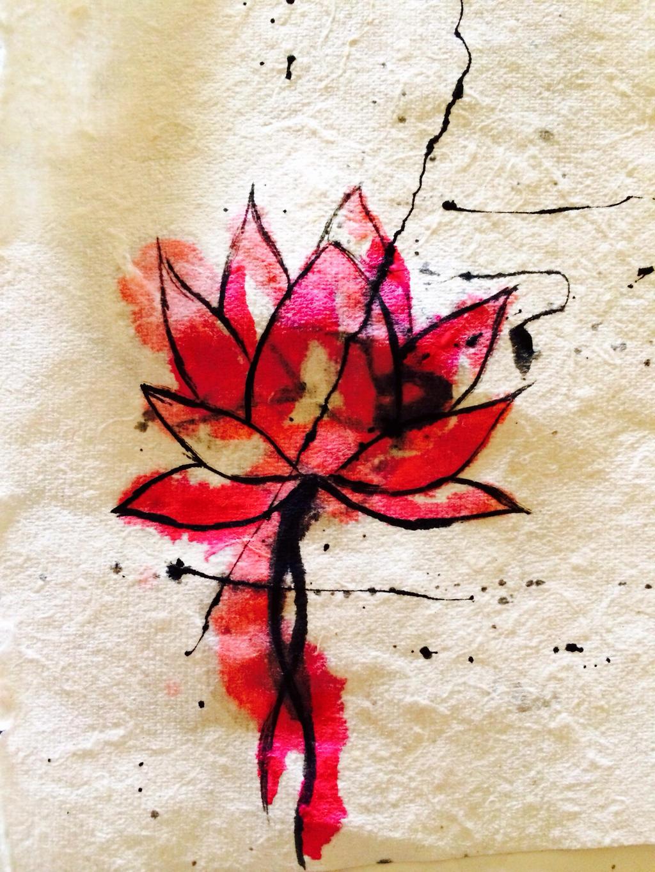 My Pink Lotus Flower Tattoo Idea By Rawrimabunny101 On Deviantart