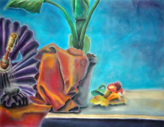 plant still life by laserboyjc