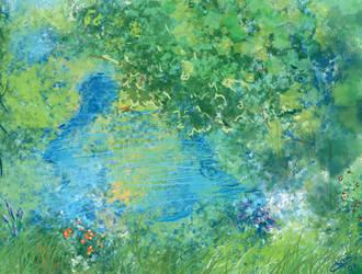 Leti's Garden by laserboyjc