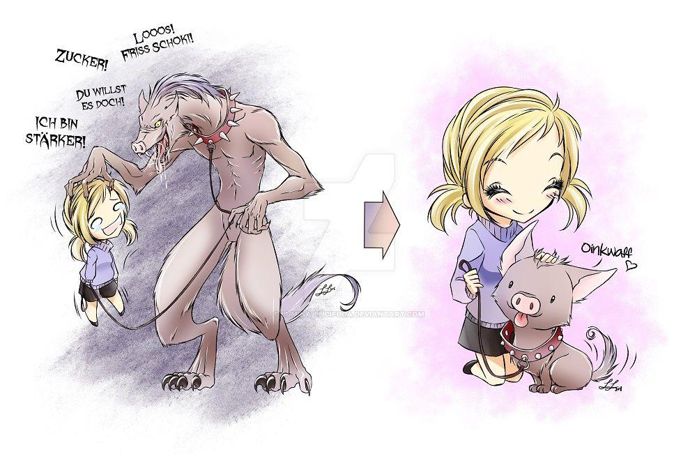 The Inner Ratfink (in Germany called ''Pigdog'') by Lumina-Lucifuga