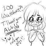 100 Watchers!!