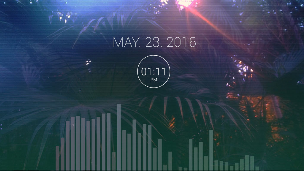 my desktop (rainmeter)
